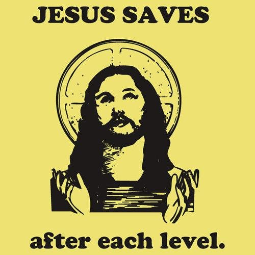 lol jesus saves