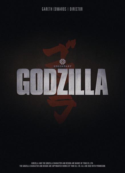 Poster de Godzilla para Vancouver.