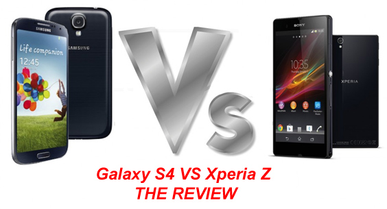 Galaxy S4 VS Sony Xperia Z Review