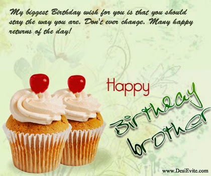 All Stuff Zone Birthday Wishes Of Brother