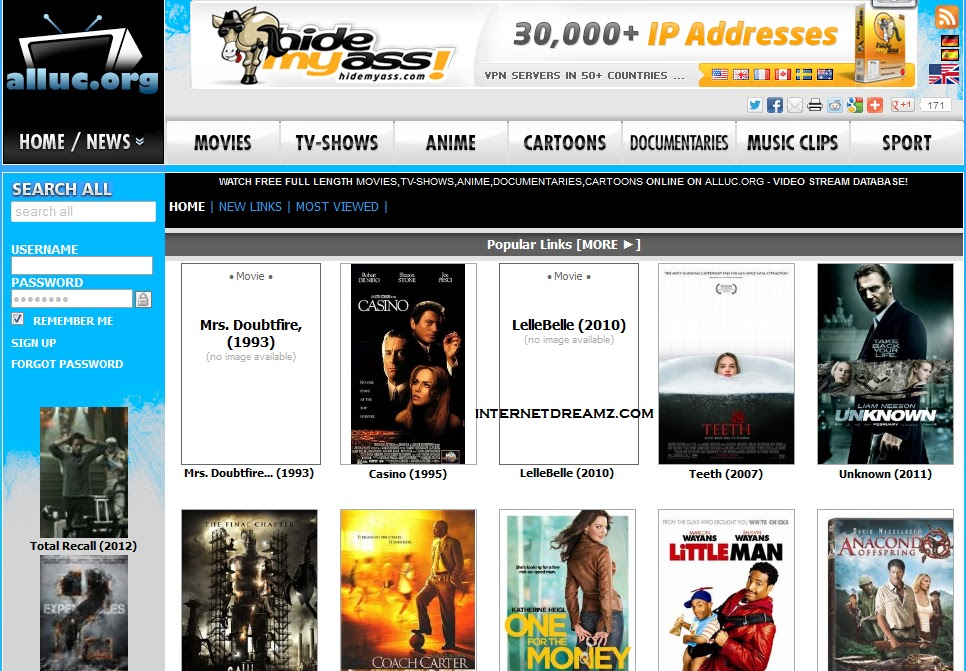 best website to download movies without registration