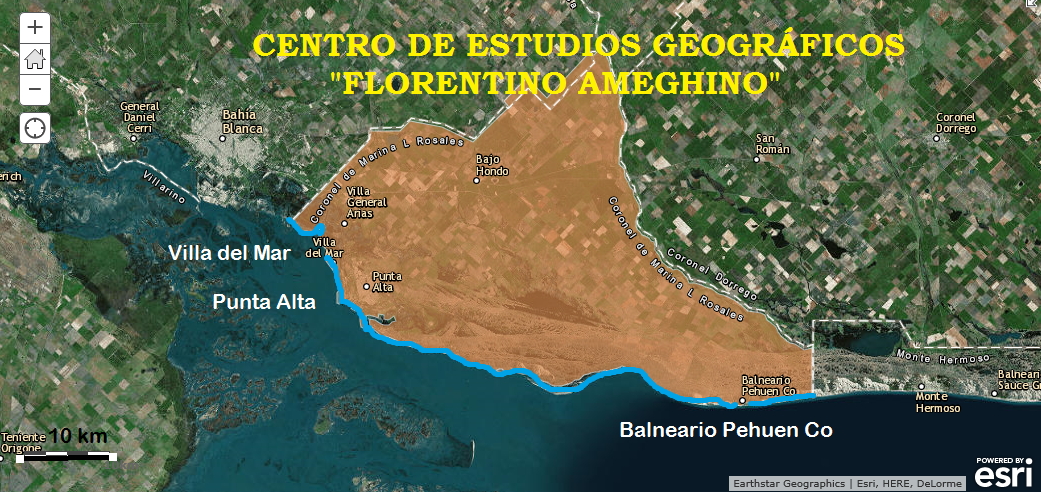 "CENTRO DE ESTUDIOS GEOGRÁFICOS DE PUNTA ALTA. ""FLORENTINO AMEGHINO"""