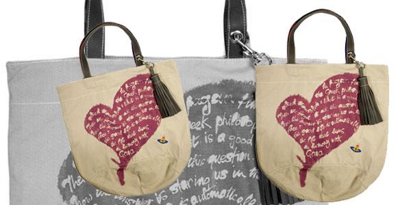 Recycling bags a la Vivienne Westwood