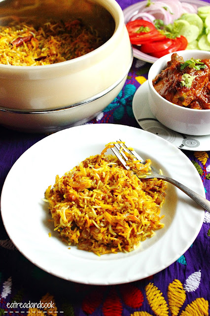 How to cook keema pulao
