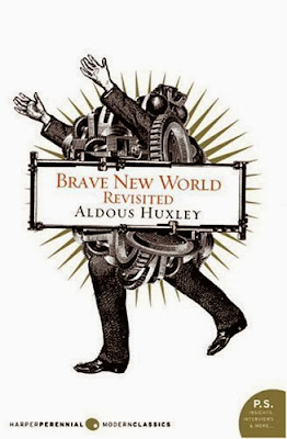 How does Brave New World illustrate the point of happiness and comfort?