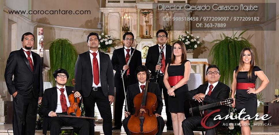 Coro Cantaré Agrupación Musical