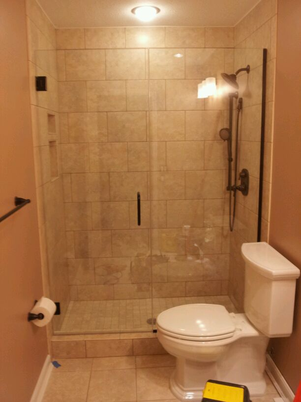 How much does a frameless shower door cost frameless for Shower doors for small bathrooms
