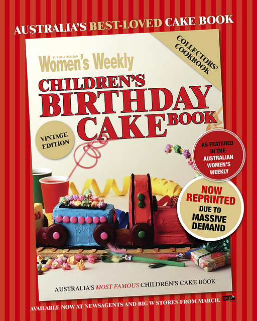 Cake It To The Limit The Australian Womens Weekly Childrens - Kids birthday cakes australian womens weekly essential paperback