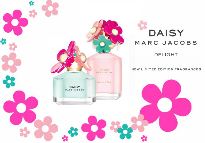Daisy Marc Jacobs Delight and Daisy Marc Jacobs Eau So Fresh Delight