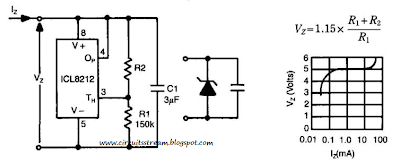 Programmable Zener Circuit Diagram
