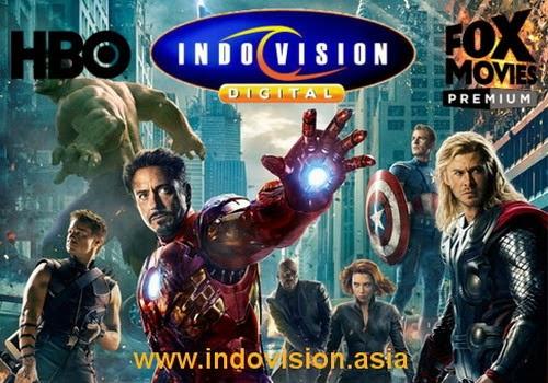 Promo terbaru Indovision gratis paket cinema 3 selama 3 bulan.