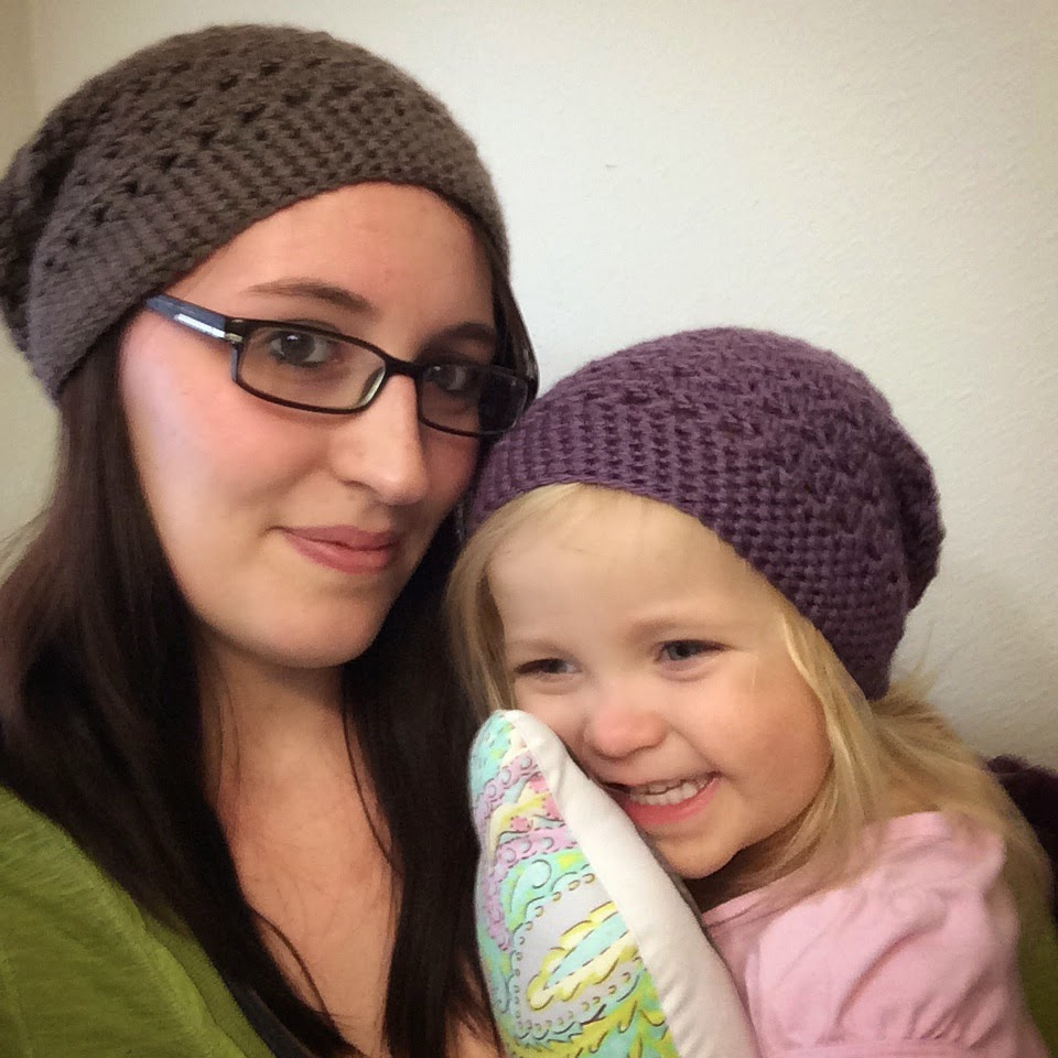 Crochet Celebrity Slouchy Beanies for the Family ...