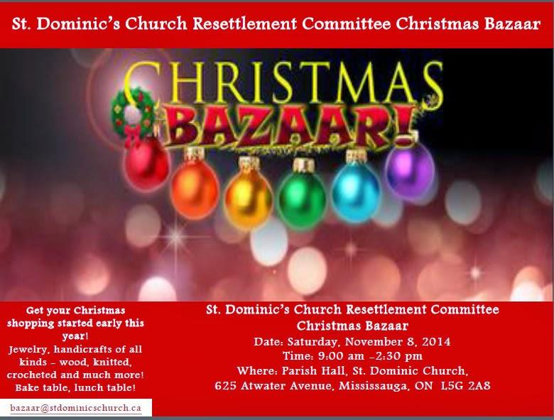 St. Dominic's Church Resettlement Committee Christmas Bazaar
