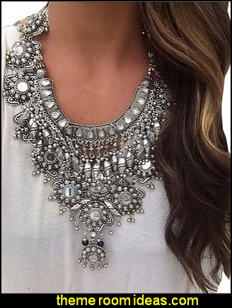 vintage loading s jewellery pc details image metallic necklaces about lot costume beaded itm jewelry is