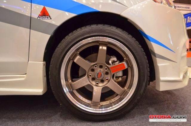 Modifikasi Velg Suzuki Ertiga