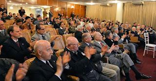 O público acompanhou com muito interesse a palestra. Foto: Paulo Roberto Campos / ABIM