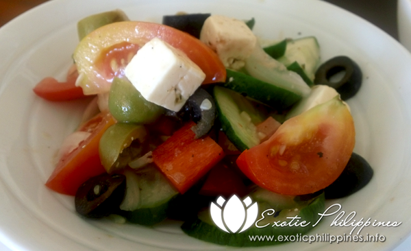 Jpark Island Resort and Waterpark Olive Restaurant Greek Salad