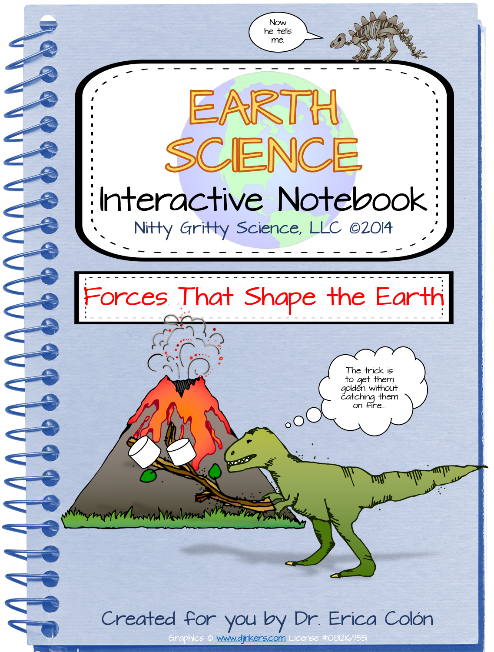 https://www.teacherspayteachers.com/Product/Earth-Science-Interactive-Notebook-Forces-That-Shape-the-Earth-1594945