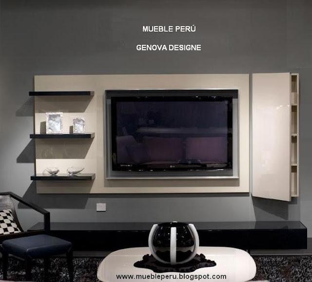 Muebles tv for Disenos de muebles para tv minimalistas