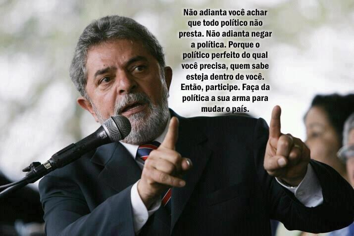 Lula e a política