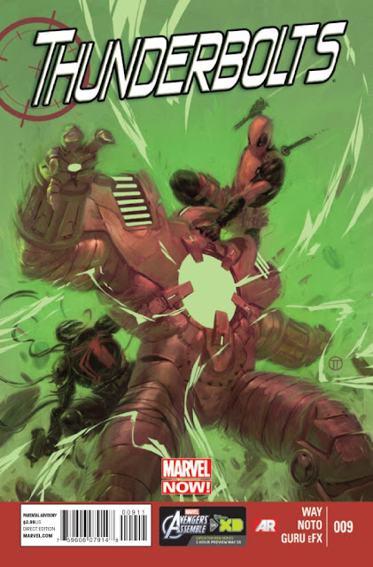 Thunderbolts #9 Marvel Now Comics gratis descarga