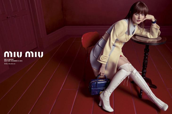 Miu Miu Spring/Summer 2014 Campaign