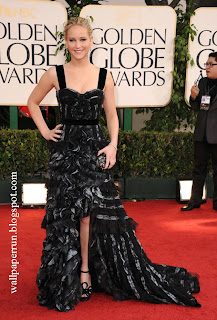 Jennifer Lawrence arrives at the 68th Annual Golden Globe Awards held at The Beverly Hilton hotel on January 16, 2011
