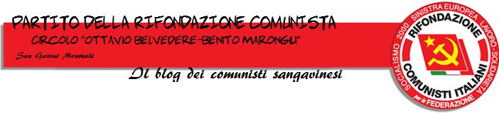 Blog dei Comunisti Sangavinesi