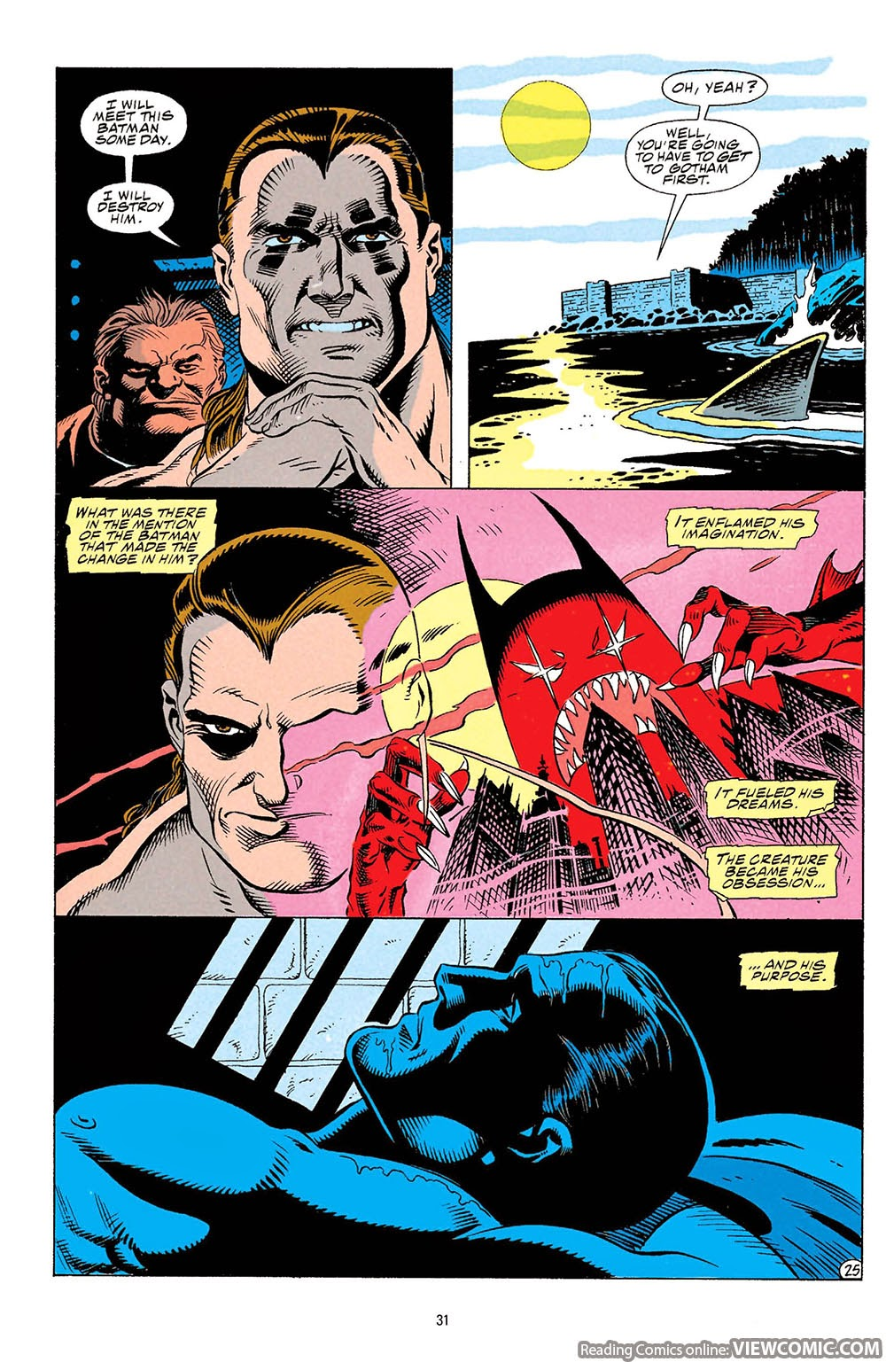 Batman – Knightfall | Viewcomic reading comics online for ...