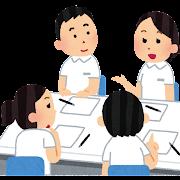 看護師の会議のイラスト
