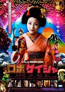 Người Máy Geisha - Robo Geisha