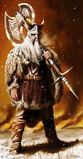 Guerreiro Viking, Povos Bárbaros, Invasão Germânica