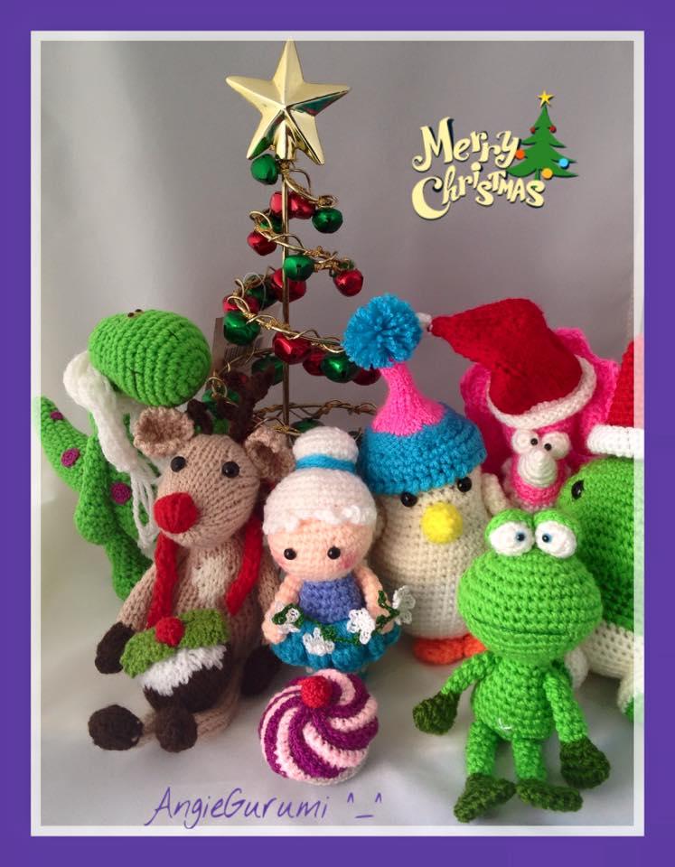 Kit Amigurumi Navidad : Amigurumi DIY by AngieGurumi: ( ? ) Amigurumi, Postales ...