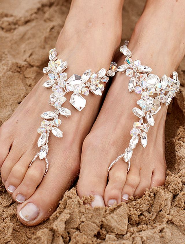 Foot Jewelry & Accessories from AriannaTiaras.com