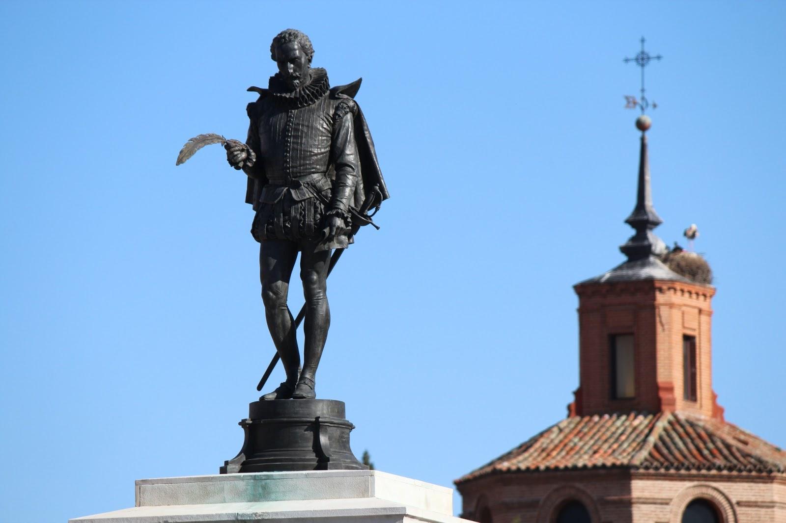 Historia y Genealogía: Cervantes en Alcalá de Henares