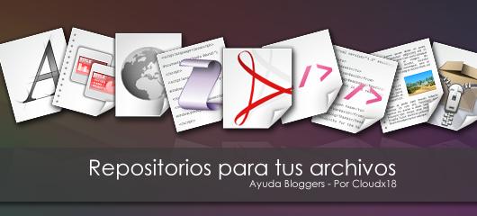 Nuevos repositorios para tus archivos (Editado)