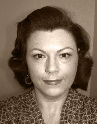 Retro Gran's attempt at Lauren Bacall hair