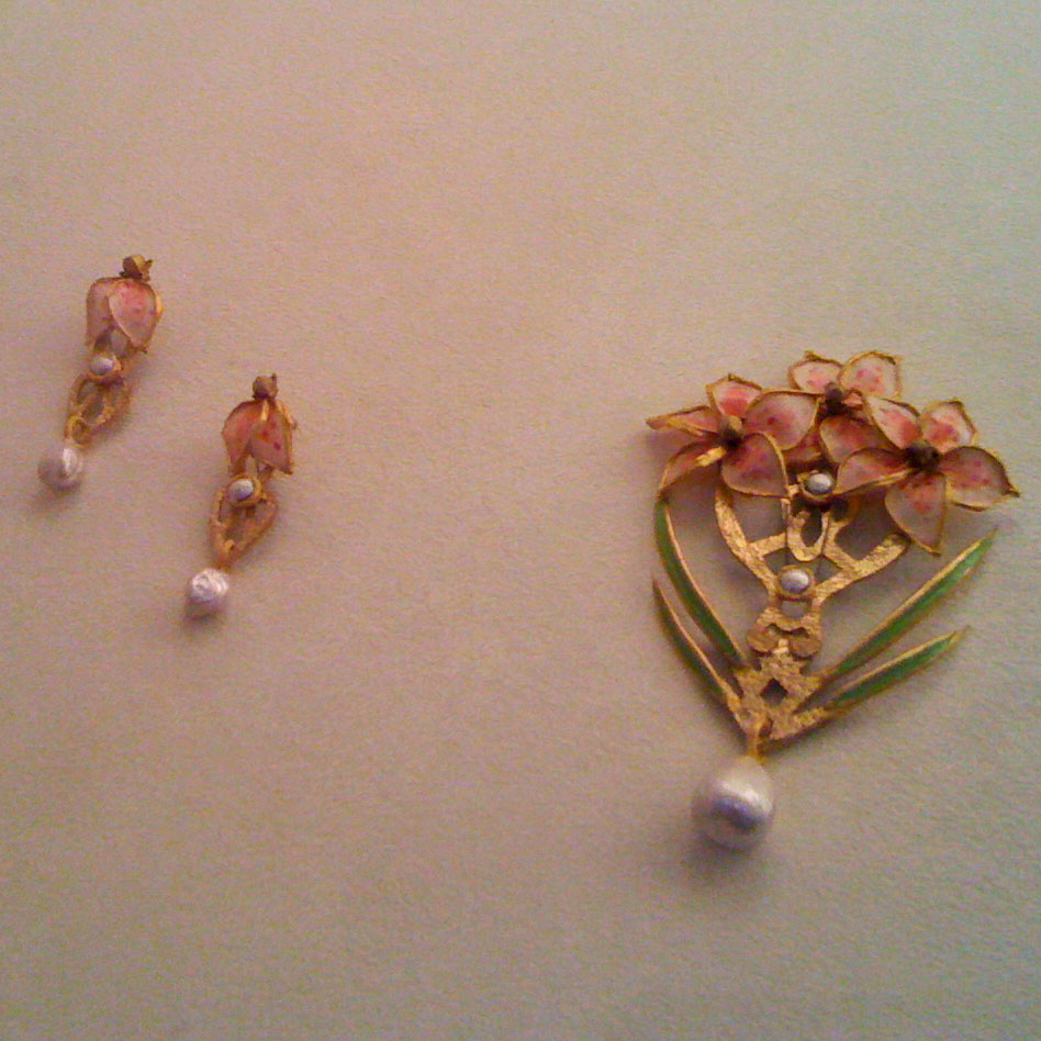 love honor upcycle botanical baubles jewelry made