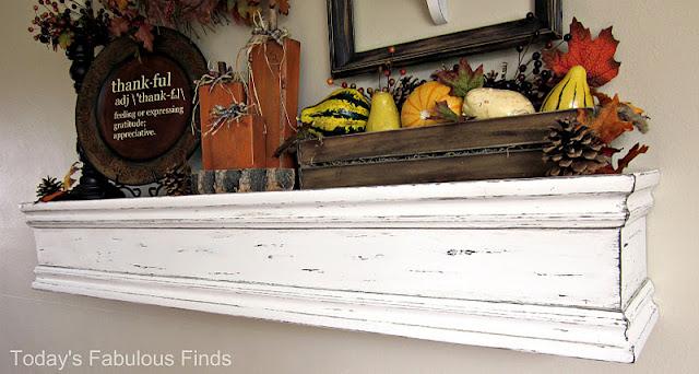 DIY Mantel Shelves