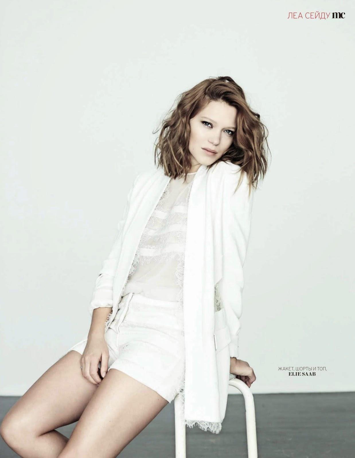 Lea Seydoux - Marie Claire Magazine Russia, April 2014