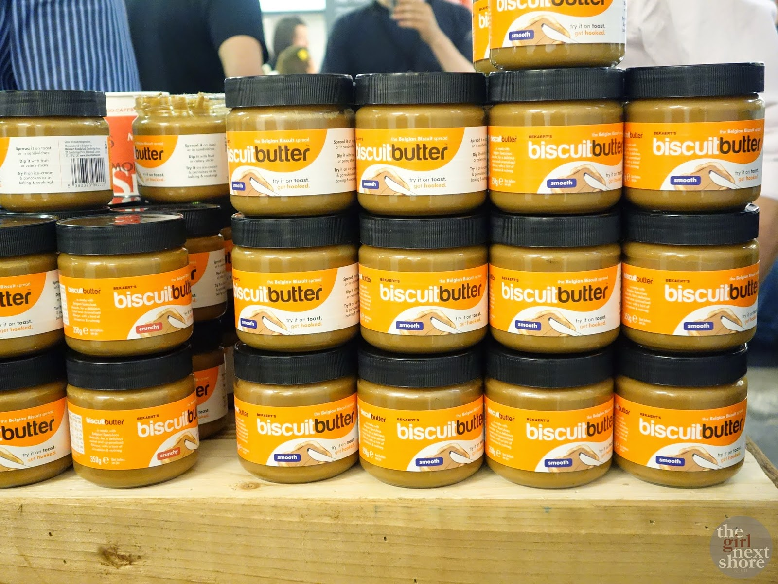 Biscuit Butter at the London Coffee Festival