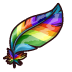 Rainbow Feather Links Material Item