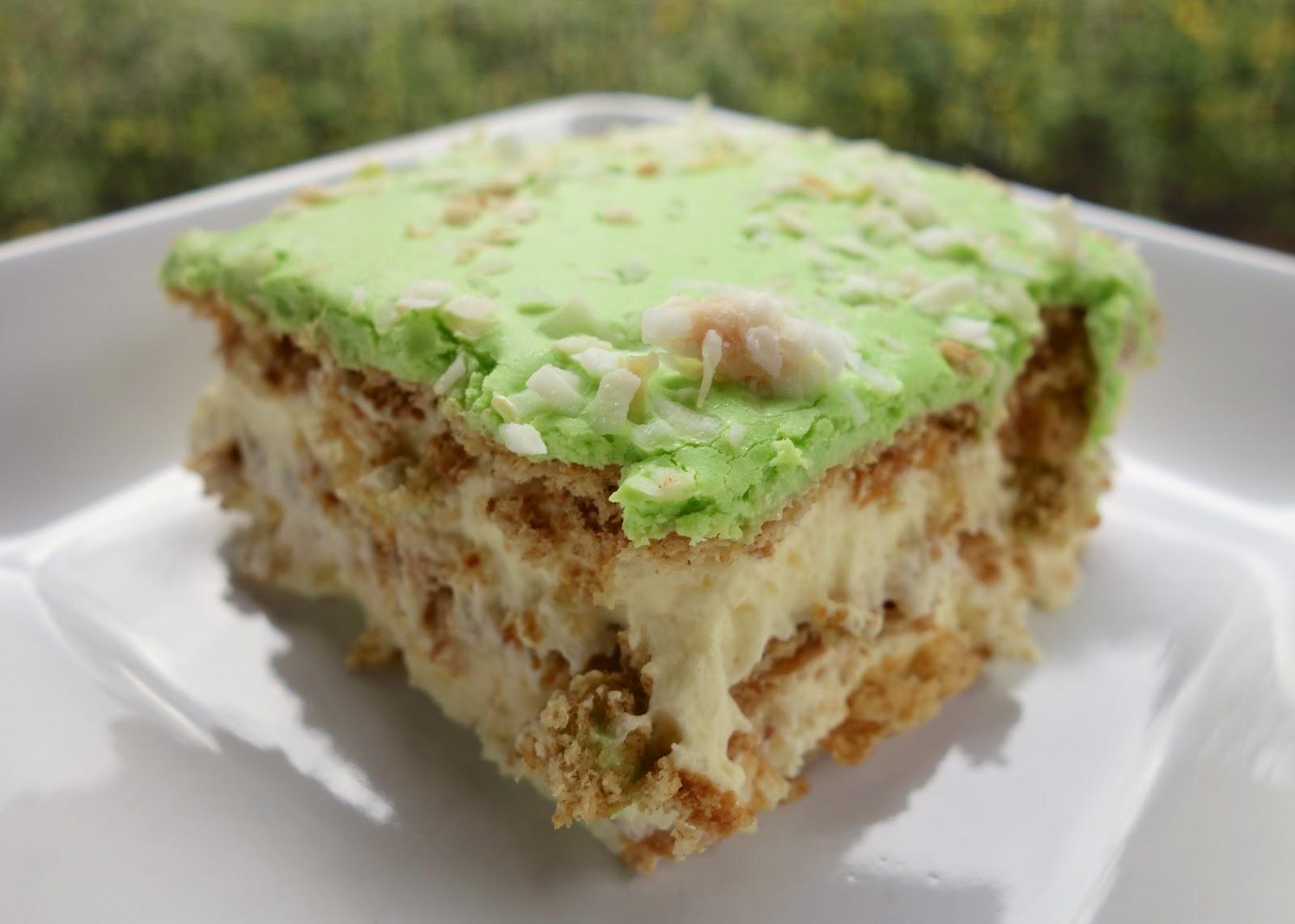 Key Lime Coconut Eclair Cake   Plain Chicken