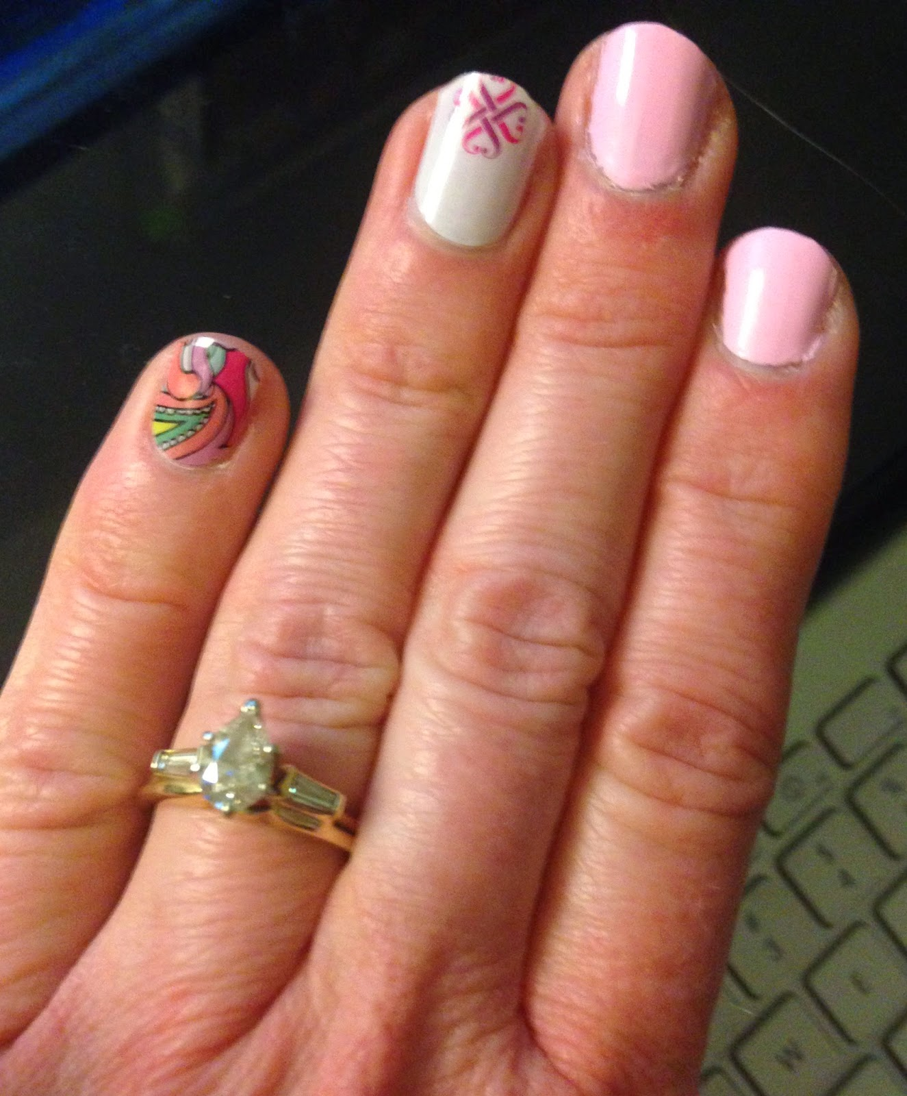 Morning Glories and Moonflowers: jamberry nails review and giveaway