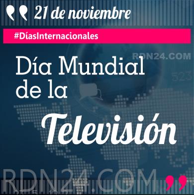 21 de noviembre - Día Mundial de la Televisión #DíasInternacionales