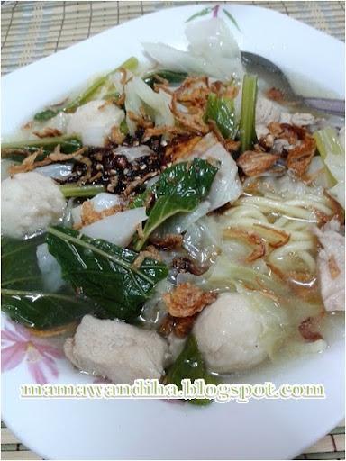 Mee Sup Bebola Ayam By Dari Dapur Madihaa