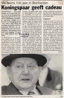 Victor Iwens 1892-1994, hield van zingen, dansen, fietsen en was bovendien een fervent duivenliefhebber