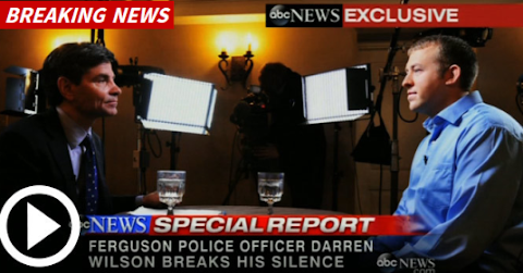 "officer Darren Wilson says ""I did nothing wrong and I'd do it again"""