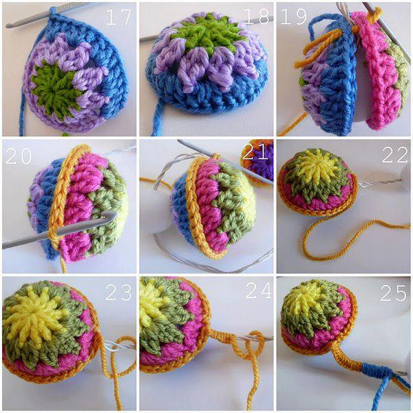 Paso a Paso: adorno para el arbol de navidad en crochet facilísimo