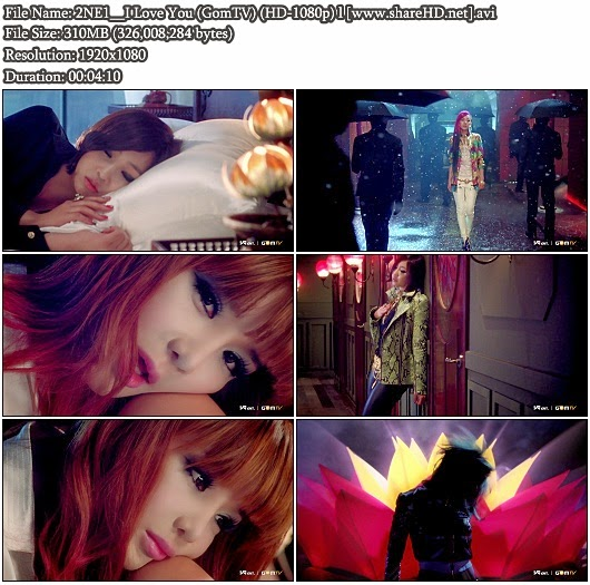 Download MV 2NE1 - I Love You (GomTV Full HD 1080p)